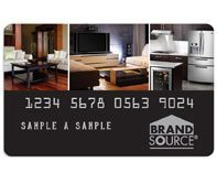 brandsource credit card
