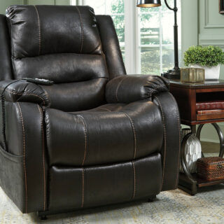 Yandel Black Power Lift Recliner