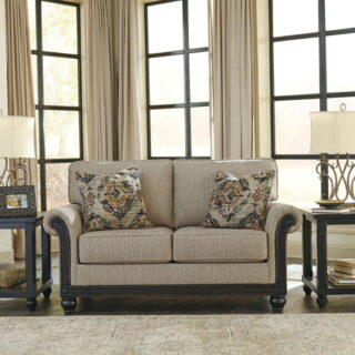 Blackwood Taupe Loveseat