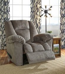 Nimmons - Taupe - Zero Wall Recliner