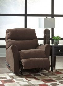 Maier - Walnut - Rocker Recliner