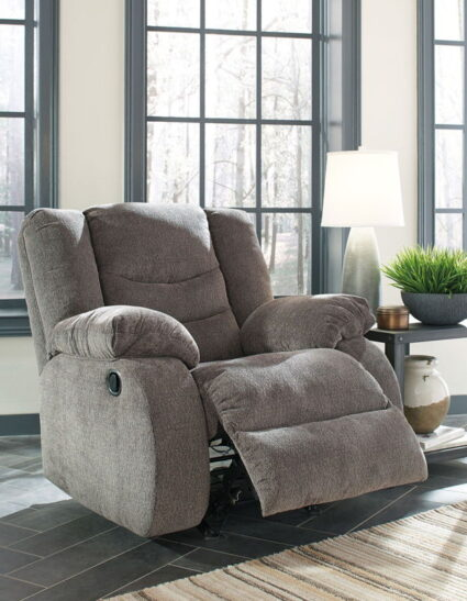 Tulen Gray Rocker Recliner