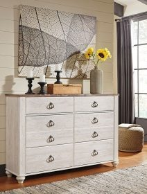 Willowton - Two-tone - Dresser