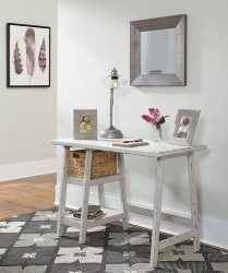 Mirimyn - Antique White - Home Office Small Desk