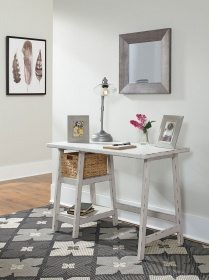 Mirimyn Antique White Home Office Small Desk
