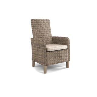 Beachcroft Beige Arm Chair With Cushion (2 piece set)