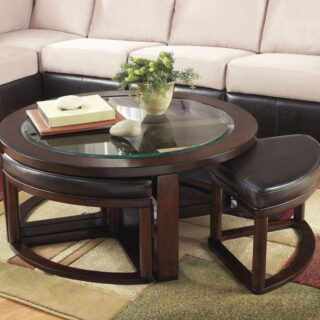 Marion - Dark Brown - Cocktail table