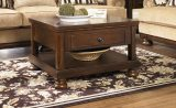 Porter Rustic Brown Lift Top Cocktail Table