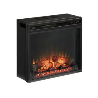 Entertainment Accessories - Black - Fireplace Insert