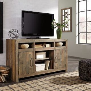 Carlyle 50 Inch Tv Stand Comfort Center Furniture And Mattresses