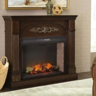 Boddew fireplace mantle
