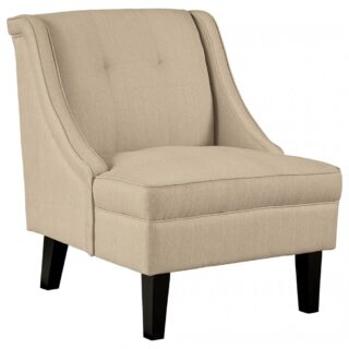 Cool Charisma Linen Accent Chair Comfort Center Furniture And Creativecarmelina Interior Chair Design Creativecarmelinacom