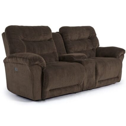 Shelby Power Reclining Console Sofa