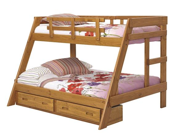 Heartland Twin over Full A Frame Bunk Bed