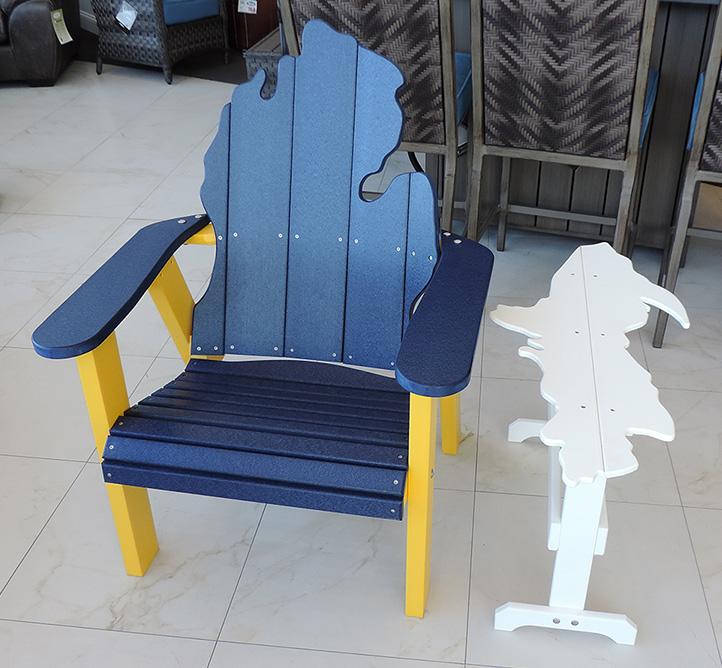 Michigan Adirondack Chair Comfort Center Furniture And