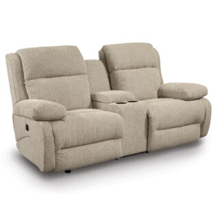 Telva Power Reclining Loveseat with Console