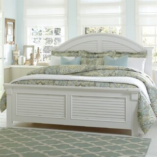 Summer House Queen Panel Bed