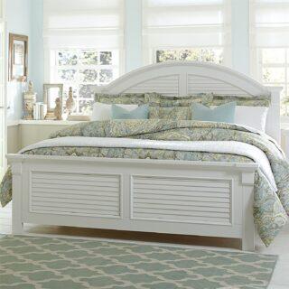 Summer House Queen Panel Bed