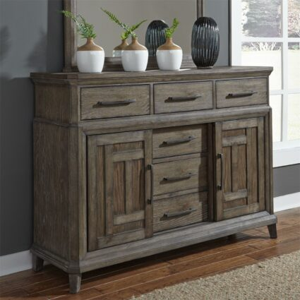 Artisan Prairie 6 Drawer 2 Door Chesser