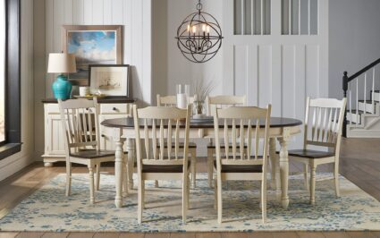 British Isles 7 Piece Dinette