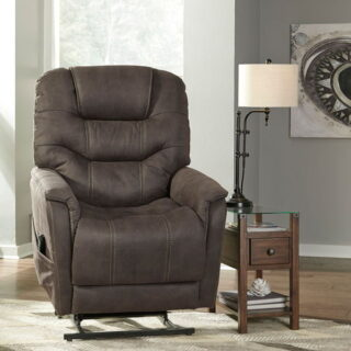 Ballister - Gunmetal - Power Lift Recliner