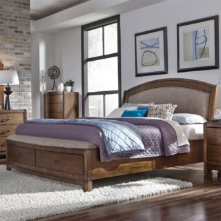 Avalon Queen Storage Bed