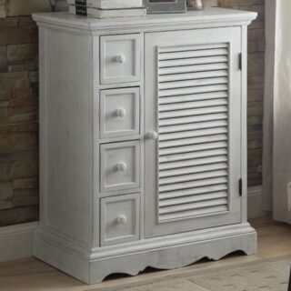 California Country Living 4 Drawer Accent Cabinet