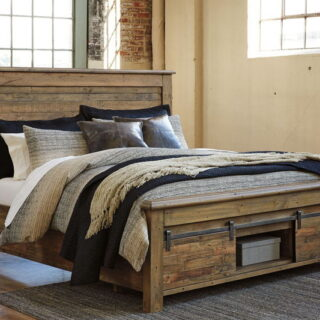 Sommerford - Brown - King Storage Bed