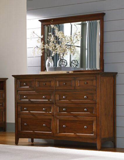 Westlake Cherry Brown Master Dresser