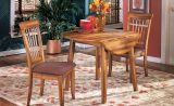Berringer - Rustic Brown - 3 Pc. - Round Drop Leaf Table Set