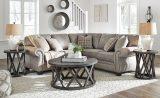Olsberg - Steel - LAF Sofa with Corner Wedge & RAF Loveseat Sectional