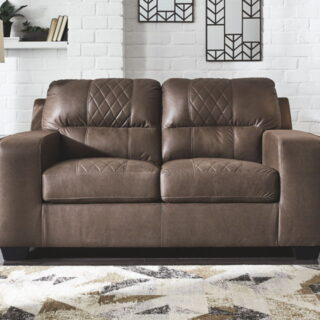 Narzole - Coffee - Loveseat