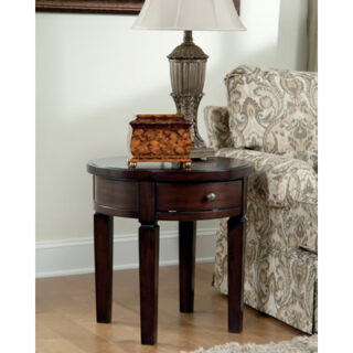 Holloway Round End Table