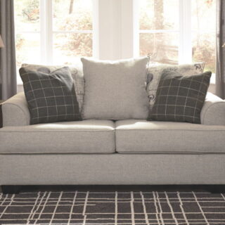 Velletri - Pewter - Loveseat