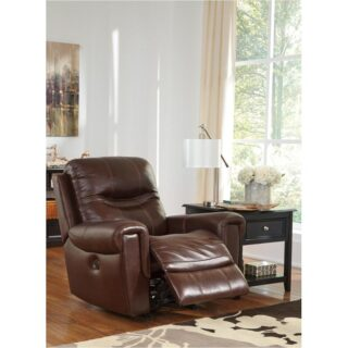 Casscoe Bark Power Rocker Recliner