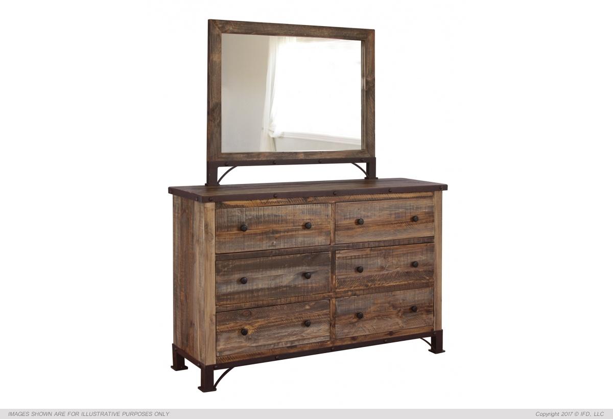 Ifd Antique Dresser Comfort Center Furniture And Mattresses