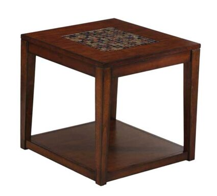 Tiger Eye End Table