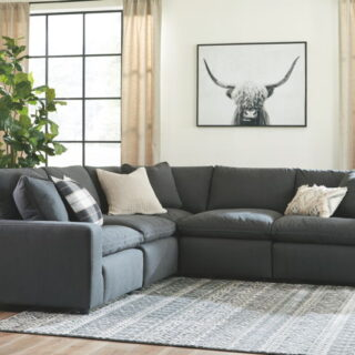 Savesto Charcoal 4 Piece Sectional