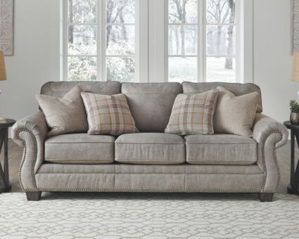 Olsberg Steel Gray Sofa