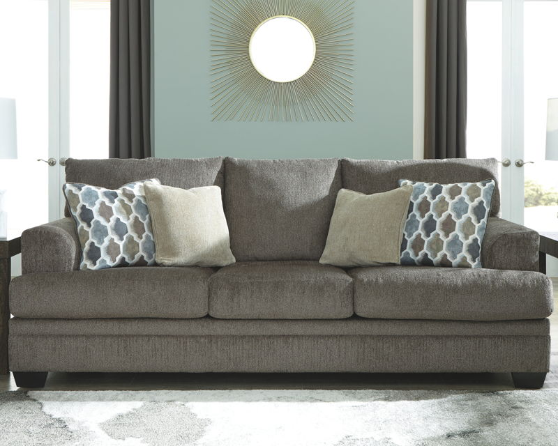Dorsten Slate Sofa Comfort Center Furniture And Mattresses