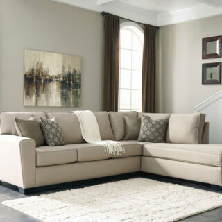 Calicho Ecru Sofa & Corner Chaise Sectional