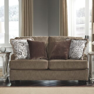Braemar Brown Loveseat