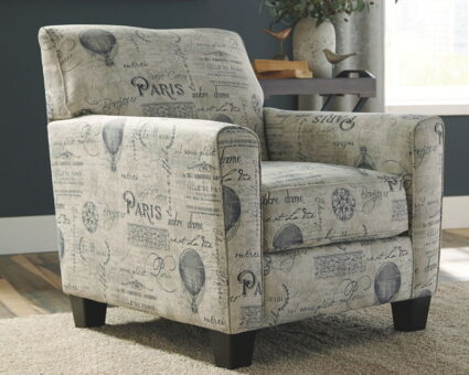 Nesso - Gray/Cream - Accent Chair