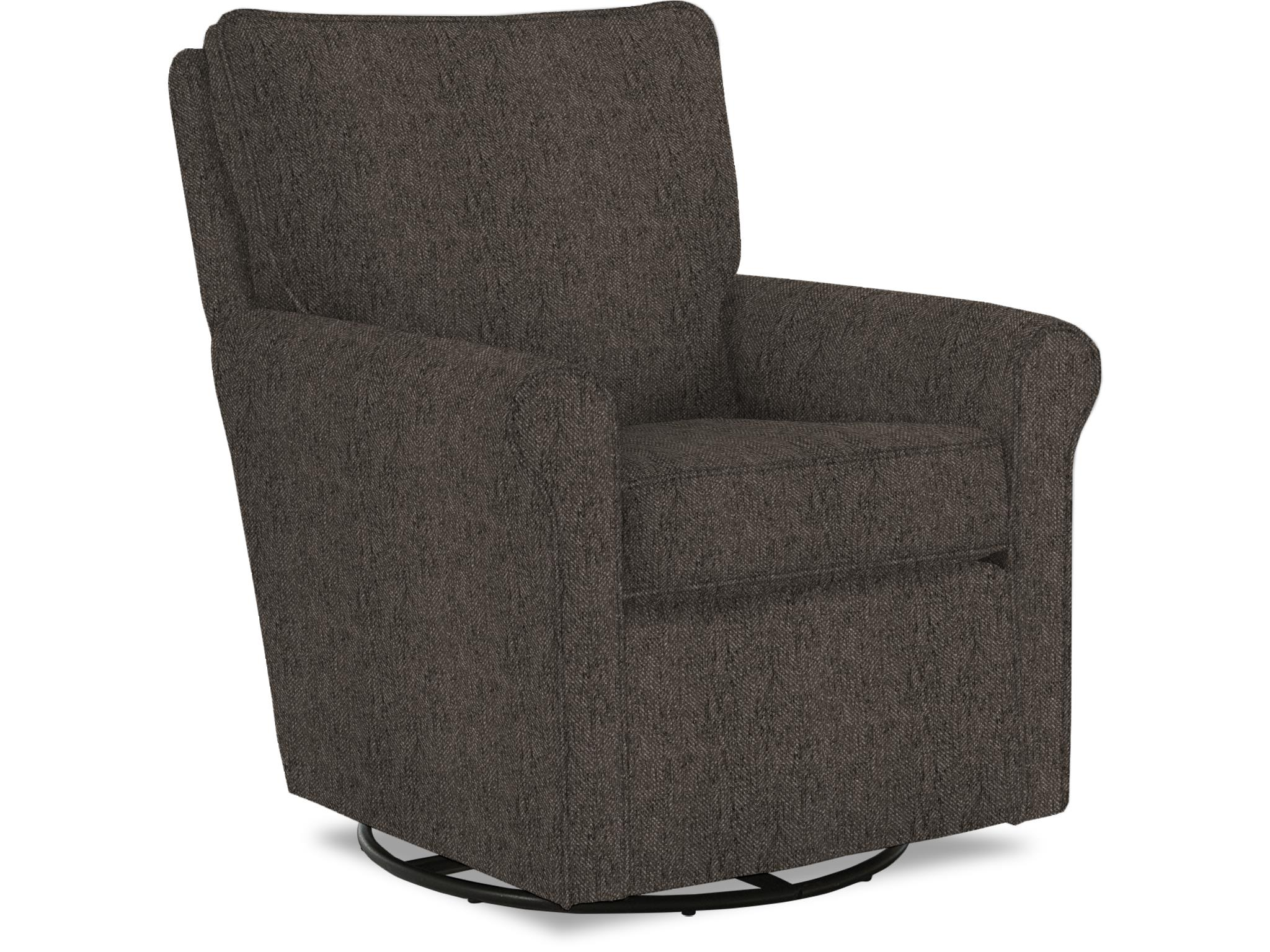 Kacey Swivel Barrel Chair Comfort Center Furniture And
