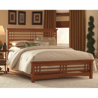 Avery Mission Queen Bed