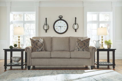 Basiley Pewter Sofa