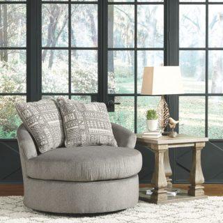 Soletren Ash Swivel Accent Chair